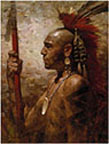 Pequot Warrior
