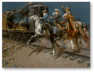 Sundance & the Wild Bunch Hit the Union Pacific